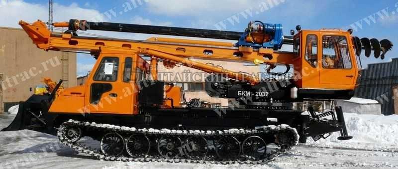 Алтайский тракрорный завод Бурильно-крановая машина БКМ-2032