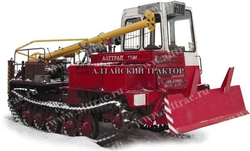 Бурильно-крановая машина БКМ-534 Алтайский тракторный завод