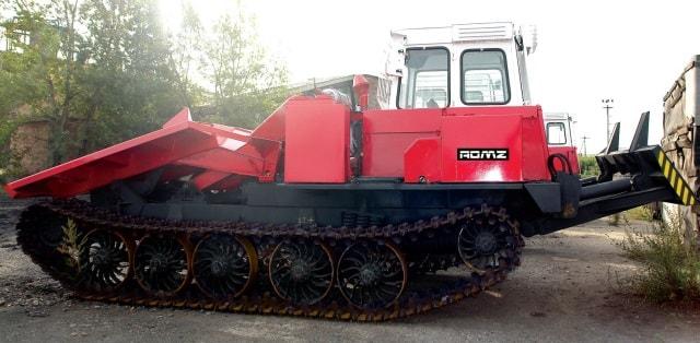 Трелевочный трактор Т-147