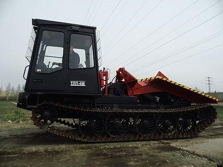 Трелевочный трактор ТЛП-4М