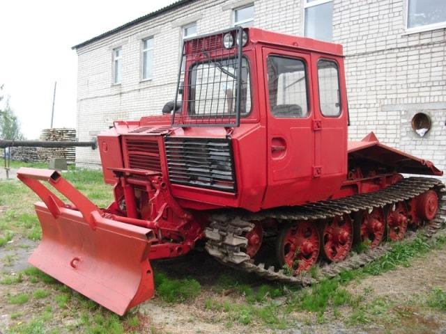 Трелевочный трактор ТЛТ-100А