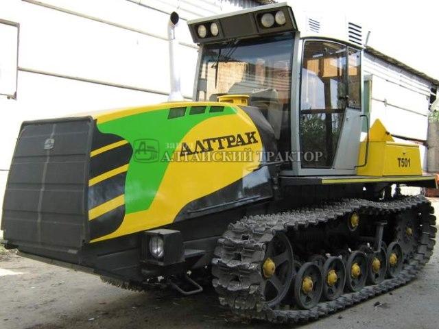 Гусеничный трактор Т-501