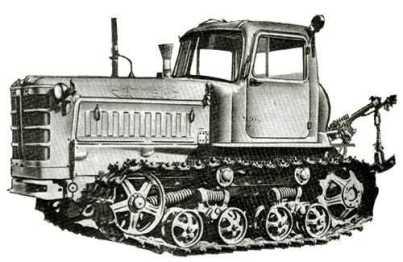 Гусеничный трактор Российского производства