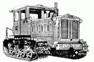 История трактора ТД 74