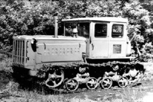 История трактора ДТ 74