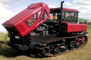 История гусеничных тракторов