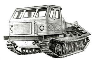 История трактора ТДТ-75
