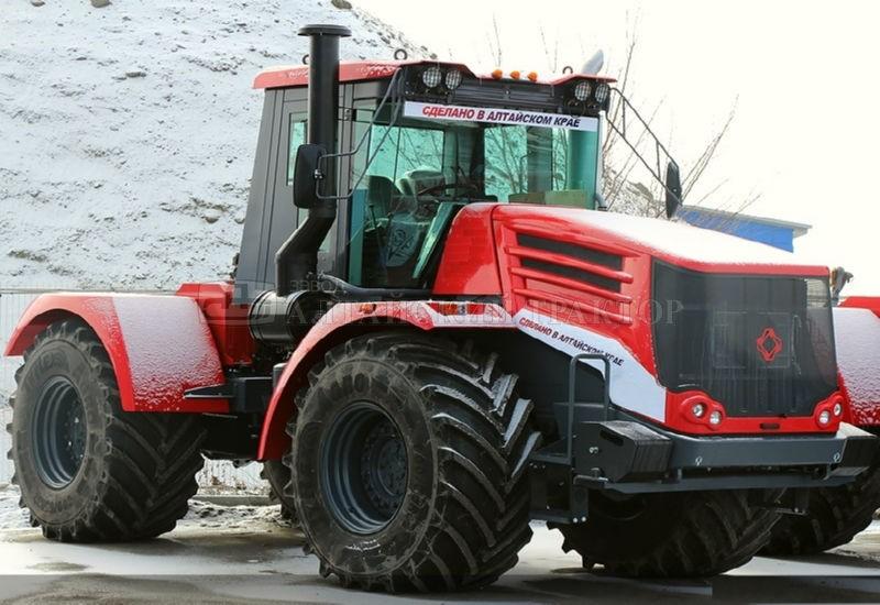 трактор К 744