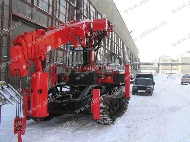 Продажа бурильно-крановой машины BUER LS 2656-001