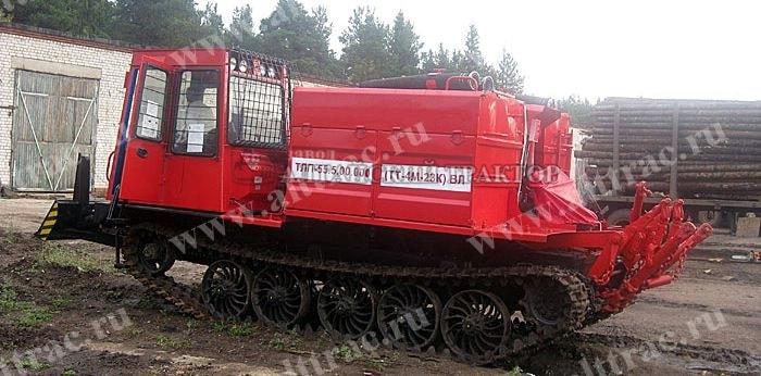 Лесопожарный трактор ТЛП-55