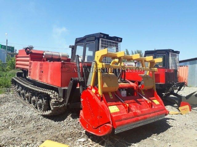 Продажа трелевочного трактора ТТ-4М оборудованным мульчером FERRI TSKF-DT/F-2200