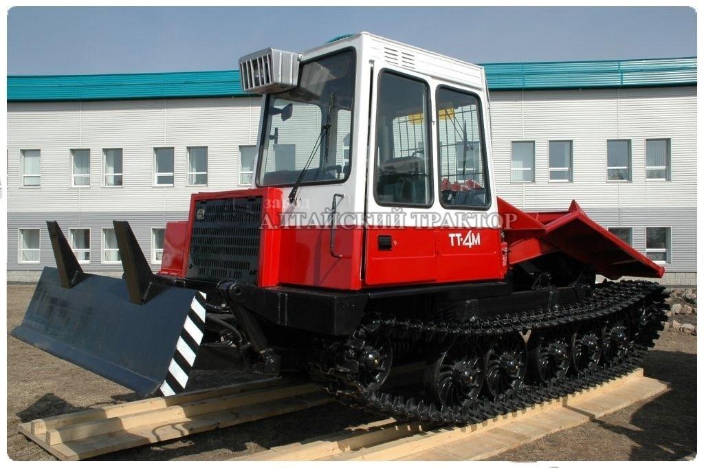 Трелевочный трактор ТТ-4