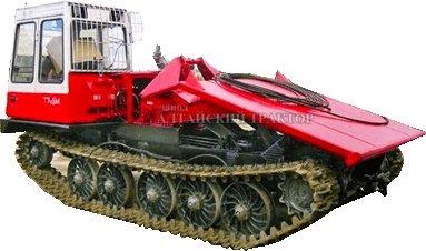 ходовая система трелевочного трактора ТТ-4