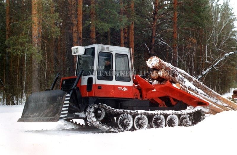 трелевочный трактор ТТ-4-07