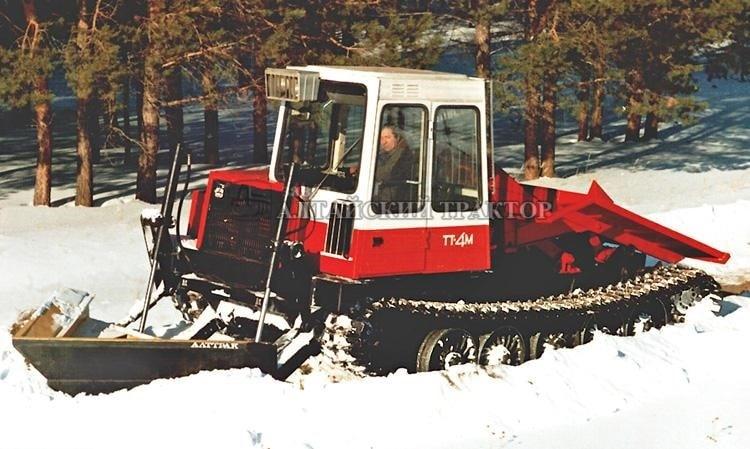 трелевочный трактор ТТ-4 17