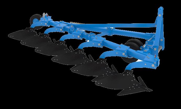 Плуг навесной ПНГ-6-50К