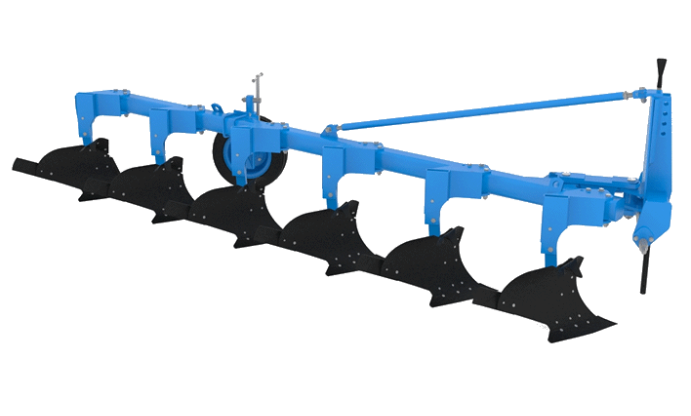 Плуг навесной ПЛНР-6×40