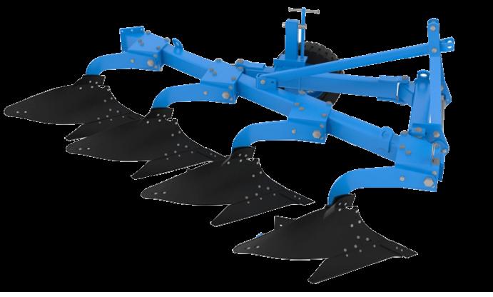Плуг навесной ПНГ-4-50К